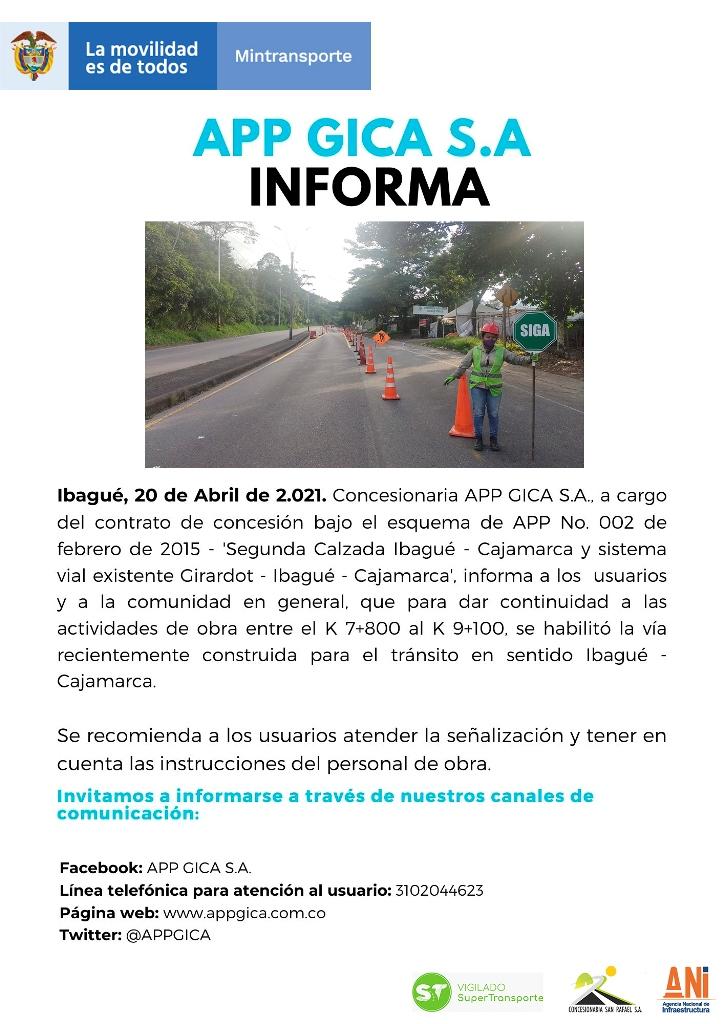 Comunicado de Prensa 20-04-2021