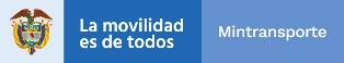 Logo Ministerio de Transporte 2019 2